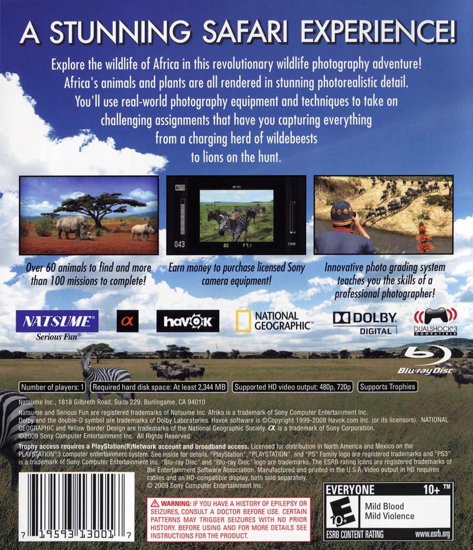 Afrika PS3 backHQ (BLUS30399)