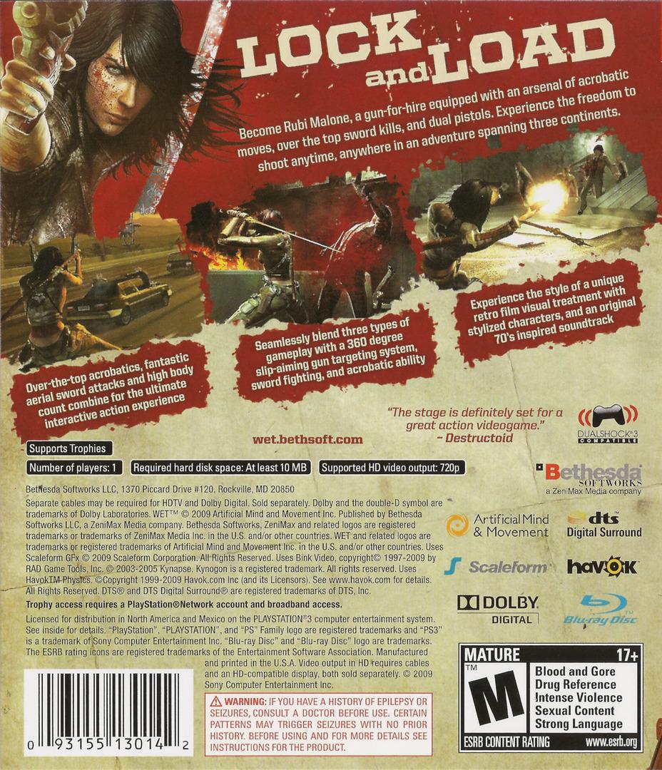 WET PS3 backHQ (BLUS30403)