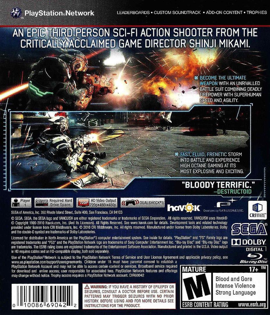 Vanquish PS3 backHQ (BLUS30543)