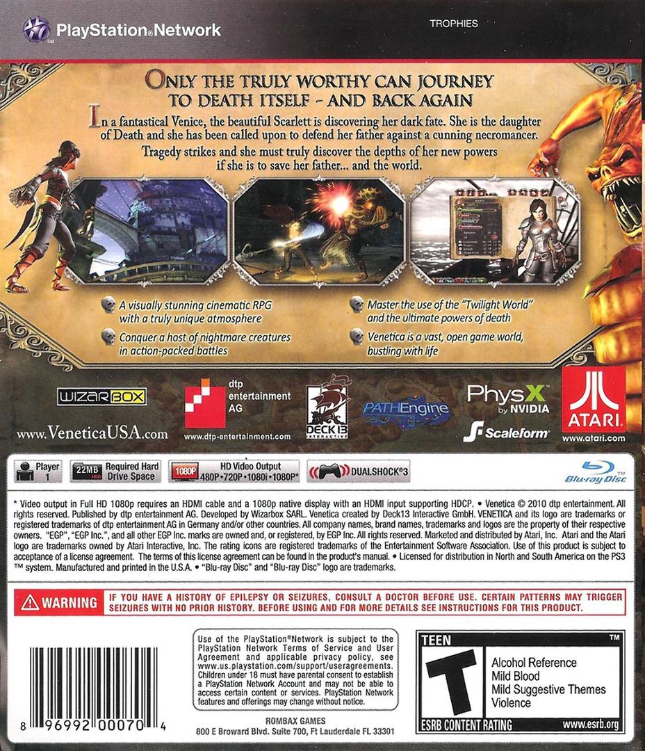 Venetica PS3 backHQ (BLUS30636)