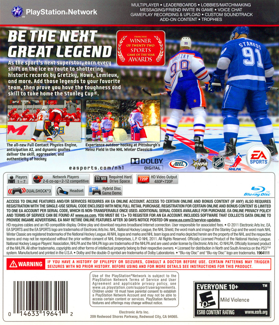 NHL 12 PS3 backHQ (BLUS30791)