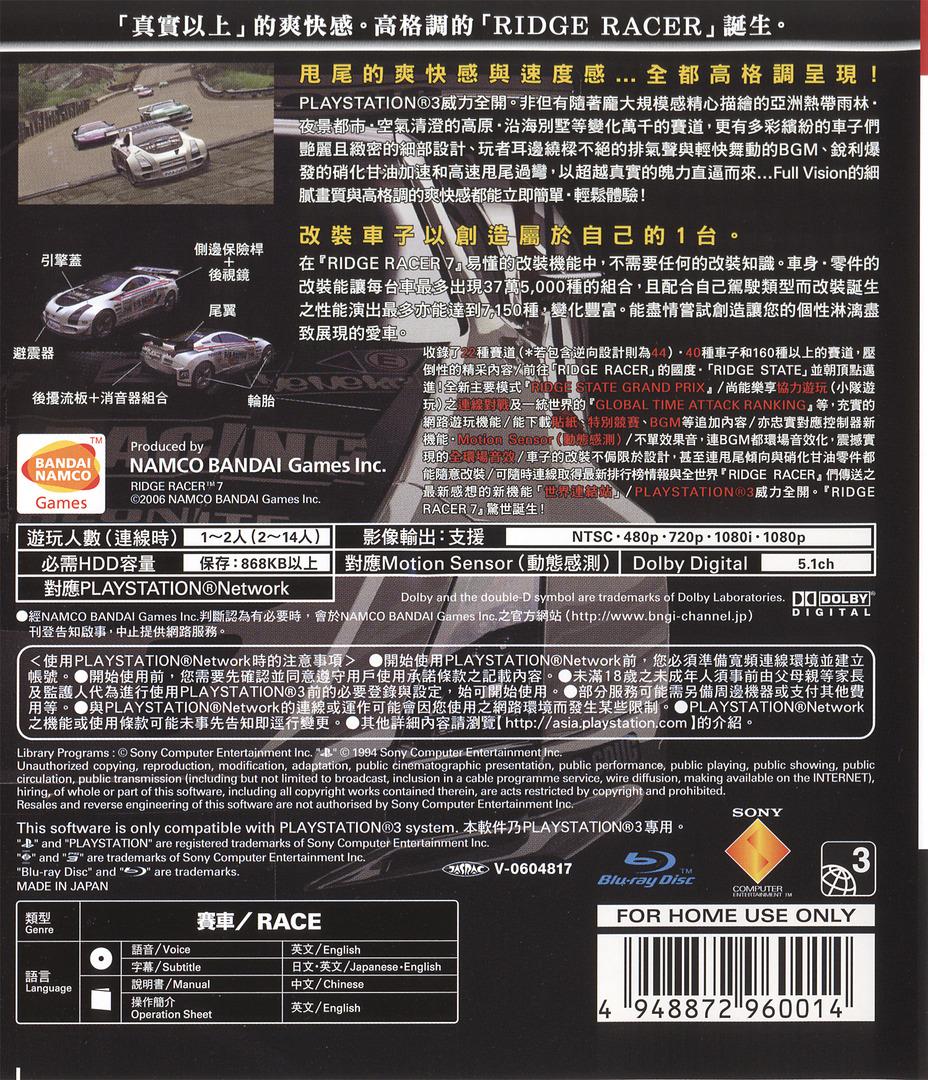 PS3 backHQ (BCAS20001)