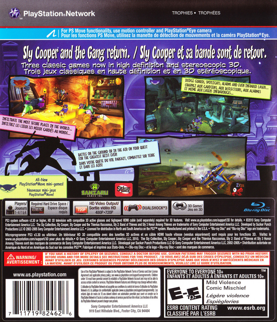 The Sly Collection PS3 backHQ2 (BCUS98246)