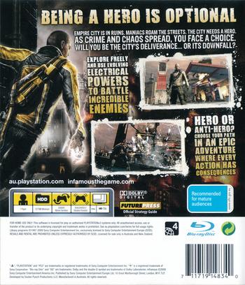 inFamous PS3 backM (BCES00609)