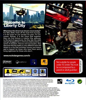 Grand Theft Auto IV PS3 backM (BLES00229)