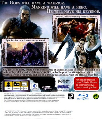Viking: Battle for Asgard PS3 backM (BLES00242)