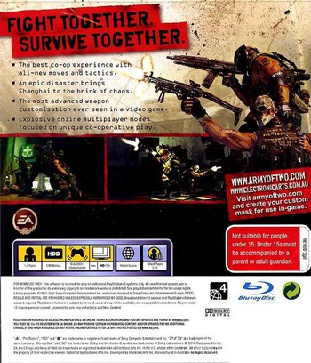 Army of Two: The 40th Day PS3 backM (BLES00659)