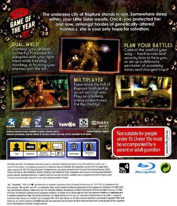 BioShock 2 PS3 backM (BLES00728)