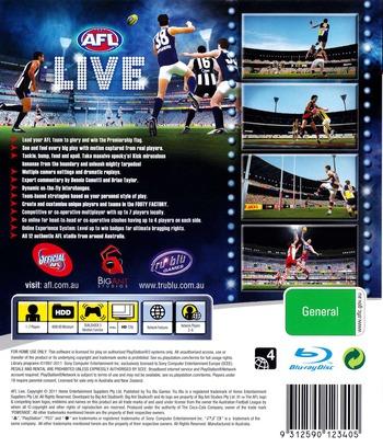 AFL Live PS3 backM (BLES01038)
