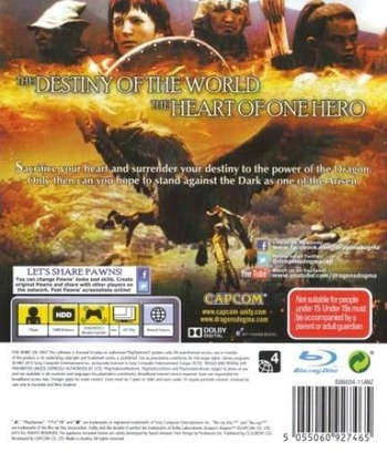 Dragon's Dogma PS3 backM (BLES01356)