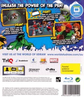 Marvel Super Hero Squad:Comic Combat PS3 backM (BLES01379)