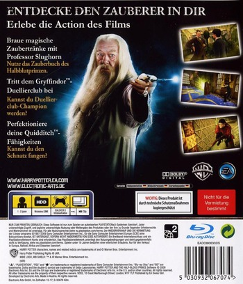 Harry Potter und der Halfbblut-Prinz PS3 backM (BLES00424)