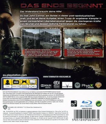 Terminator-Die Erlüsung PS3 backM (BLES00537)