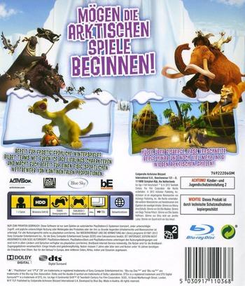 Ice Age 4: Voll Verschoben - Die Arktischen Spiele PS3 backM (BLES01686)