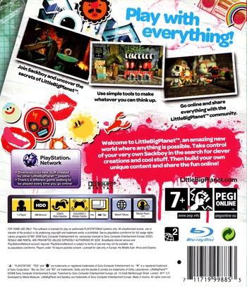 LittleBigPlanet Array backM (BCES00141)