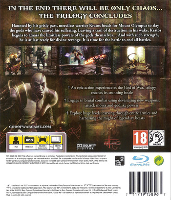 God of War III PS3 backM (BCES00510)