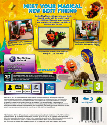 EyePet Move Edition PS3 backM (BCES00864)