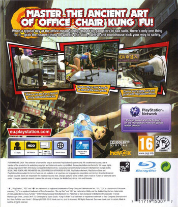 Kung Fu Rider PS3 backM (BCES01029)