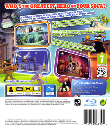 Start the Party! Save the World PS3 backM (BCES01274)
