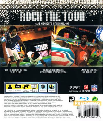 NFL Tour PS3 backM (BLES00218)