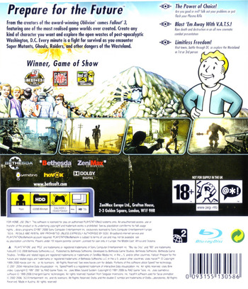 Fallout 3 PS3 backM (BLES00333)