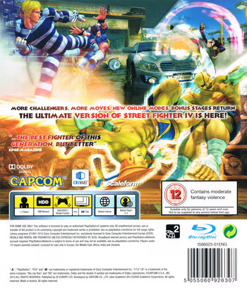 Super Street Fighter IV PS3 backM (BLES00770)