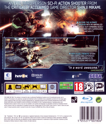 Vanquish PS3 backM (BLES00927)