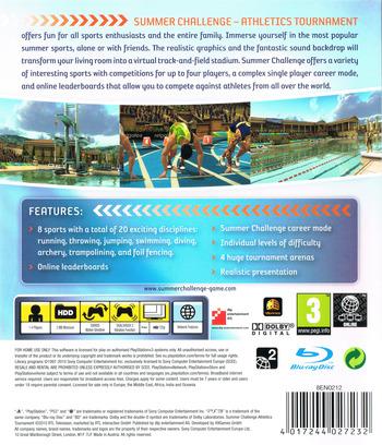 Summer Challenge: Athletics Tournament PS3 backM (BLES01011)