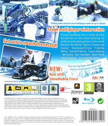 Winter Sports 2011: Go for Gold PS3 backM (BLES01061)