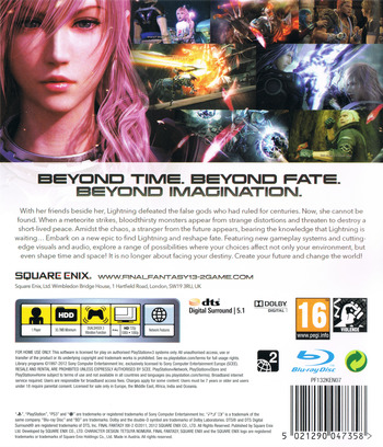 Final Fantasy XIII-2 PS3 backM (BLES01269)