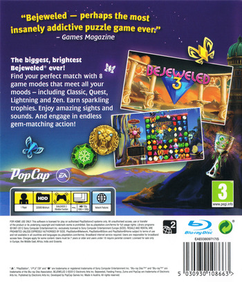 Bejeweled 3 PS3 backM (BLES01601)