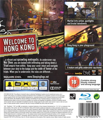Sleeping Dogs PS3 backM (BLES01661)