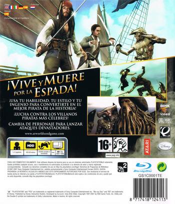 Piratas del Caribe: En el Fin del Mundo PS3 backM (BLES00066)