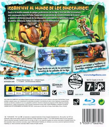 Ice Age 3: El Origen De Los Dinosaurios PS3 backM (BLES00522)