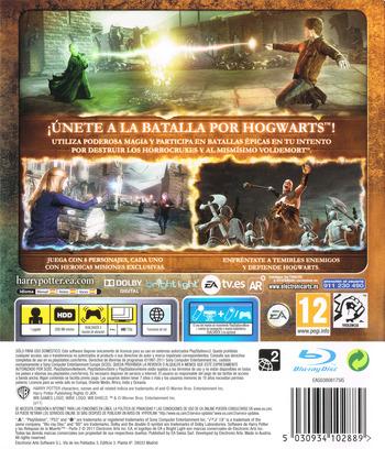 Harry Potter y Las Reliquias De La Muerte - Parte 2 PS3 backM (BLES01307)