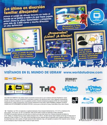 Pictionary: Edición Actualizada PS3 backM (BLES01474)