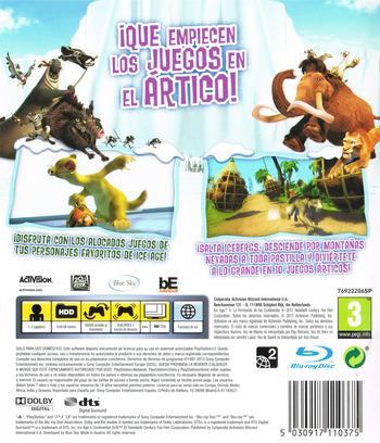 Ice Age 4: La Formación de los Continentes - Juegos en el Ártico PS3 backM (BLES01686)