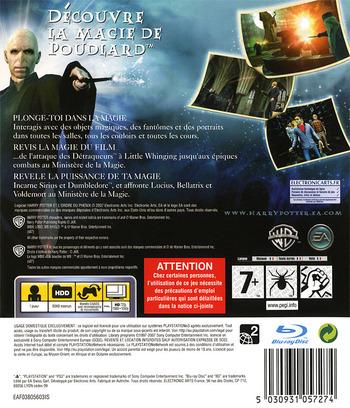 Harry Potter et l'Ordre du Phénix PS3 backM (BLES00071)