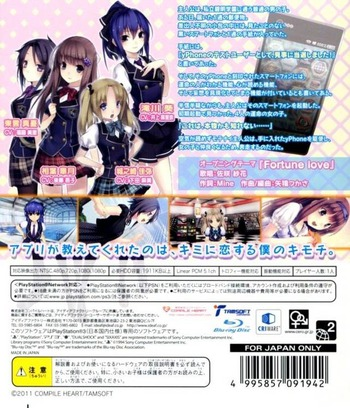 PS3 backM (BLJM60444)