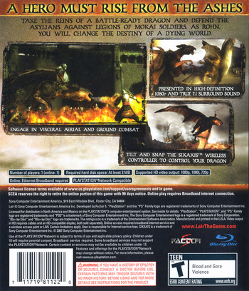 Lair PS3 backM (BCUS98112)