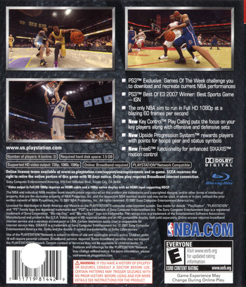 NBA 08 PS3 backM (BCUS98144)