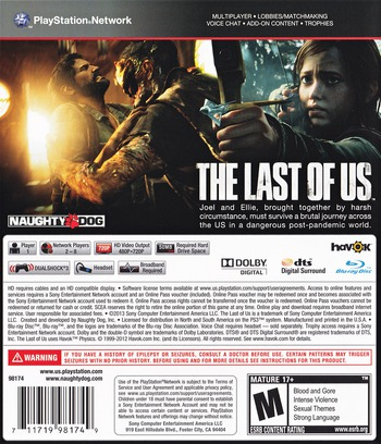 The Last of US Array backM (BCUS98174)