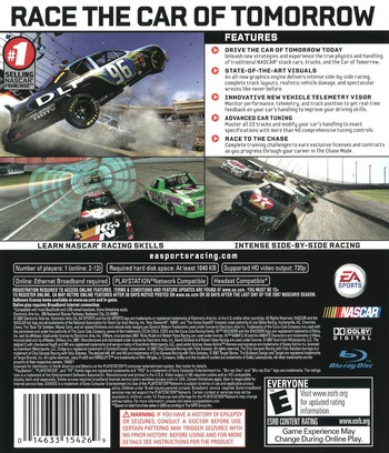NASCAR '08 Array backM (BLUS30040)