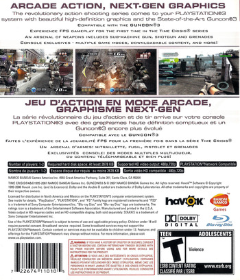 Time Crisis 4 PS3 backM (BLUS30093)
