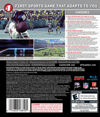 Madden NFL '09 PS3 backM (BLUS30146)