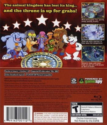 Hail to the Chimp PS3 backM (BLUS30153)