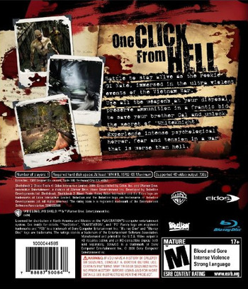 Shellshock 2: Blood Trails PS3 backM (BLUS30225)