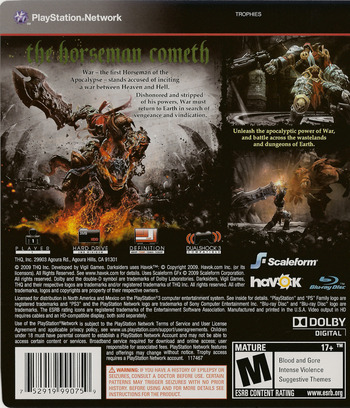 Darksiders PS3 backM (BLUS30320)