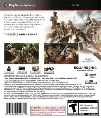 Final Fantasy XIII PS3 backM (BLUS30416)