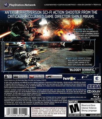 Vanquish PS3 backM (BLUS30543)